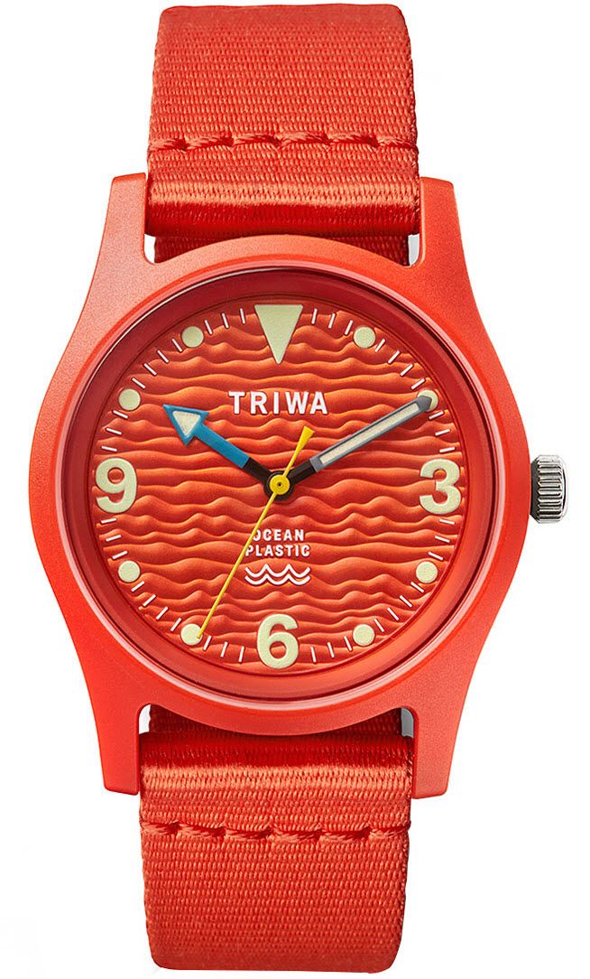 Triwa Ocean Plastic Recycled Coral TFO103-CL153512