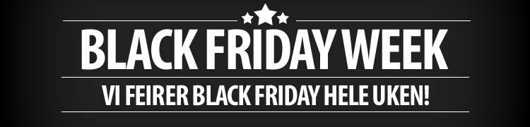 Black Friday hele uken!