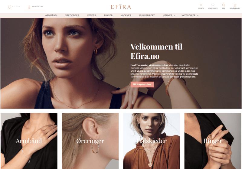 Efira.no - Kjøp Smykker Online
