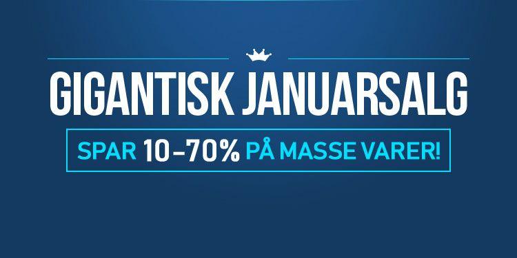 Gigantisk Januarsalg - Spar masse penger på din nye klokke!