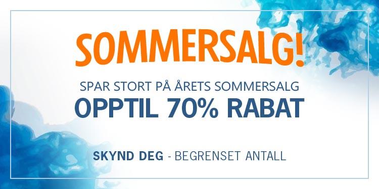 Gigantisk Sommersalg hos Klokkegiganten - Spar opptil 70%!